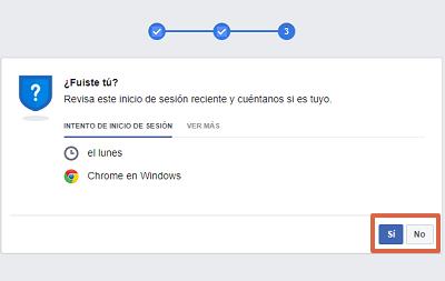 Cómo recuperar una cuenta de Facebook robada con hackeada identificando fotos de amigos paso 4