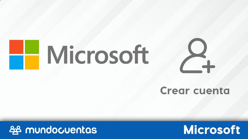 Cómo registrarse o crear una cuenta de Microsoft gratis