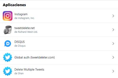 Cómo revocar el acceso de aplicaciones en Twitter paso 3