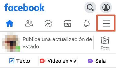 Cómo saber quiénes te siguen en Facebook desde el celular usando Facebook Lite paso 2
