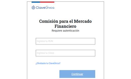Cómo saber si tienes deudas utilizado la CMF paso 1