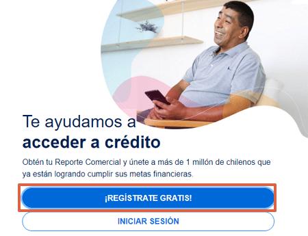 cómo saber si tienes deudas utilizado la página web Destácame paso 1
