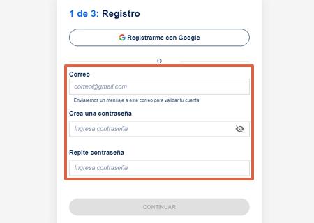 Cómo saber si tienes deudas utilizado la página web Destácame paso 2