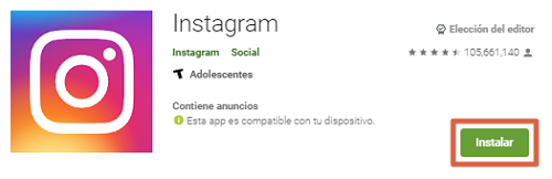 Descargar Instagram para PC gratis utilizando emulador Bluestacks