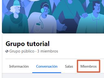 Eliminar un grupo de Facebook creado por mi definitivamente desde el ordenador paso 2