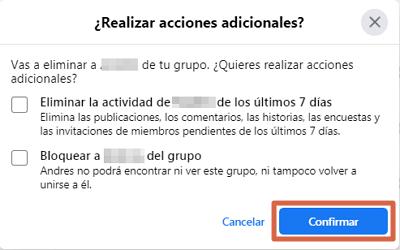 Eliminar un grupo de Facebook creado por mi definitivamente desde el ordenador paso 4