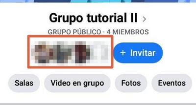 Eliminar un grupo de Facebook creado por mi definitivamente utilizando la aplicación móvil paso 3