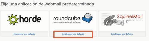 Iniciar sesión en Webmail paso 3