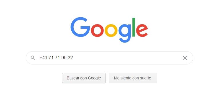 buscar numero en google