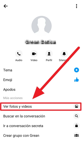 como bajar video de messenger