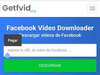 como descargar videos de facebook desde android