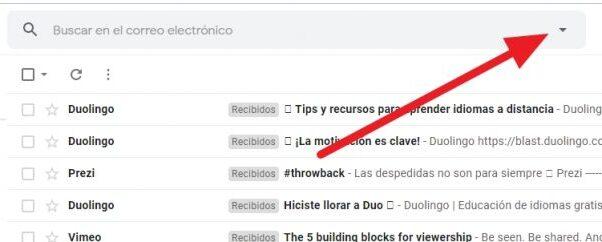 crear filtros en gmail