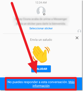 guardar en facebook messenger