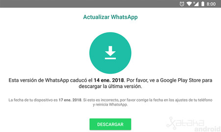 whatsapp obsoleto