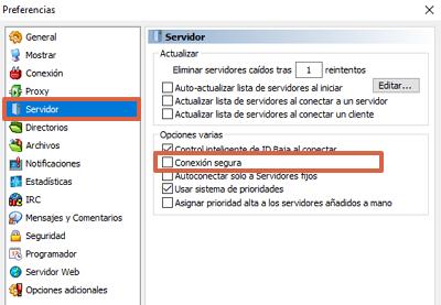 Cómo agregar los servidores de eMule manualmente paso 2