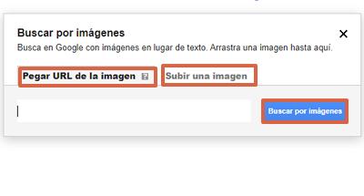 Cómo buscar a una persona por su foto con Google Imágenes paso 2