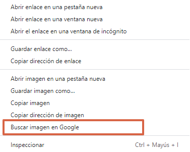 Cómo buscar a una persona por su foto con Google Imágenes paso 6