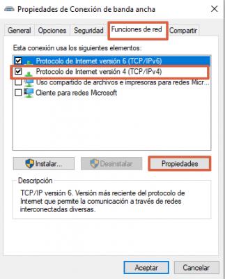 Cómo cambiar el DNS para solucionar el mensaje de dns_probe_finished_no_internet paso 6