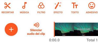Cómo combinar videos con aplicación YouCut paso 4