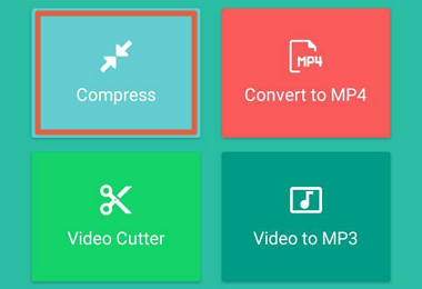 Cómo comprimir videos para enviar por WhatsApp con Video Compressor - Video to MP3 Converter paso 2