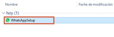Cómo descargar WhatsApp para ordenadores Windows desde la página oficial paso 3