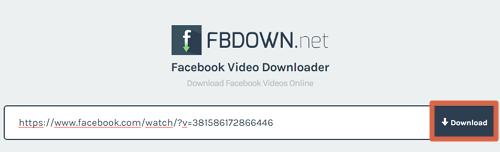 Cómo descargar videos privados de Facebook paso 3