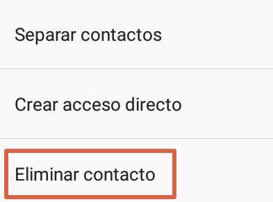 Cómo eliminar contactos de WhatsApp que están registrados en la agenda paso 8