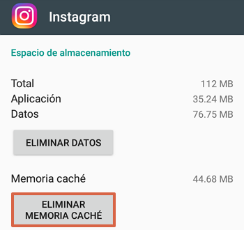 Cómo eliminar la memoria caché para ver las historias de Instagram paso 5