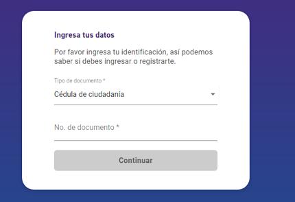 Cómo saber si estoy reportado en el DataCrédito a través de la página web paso 2