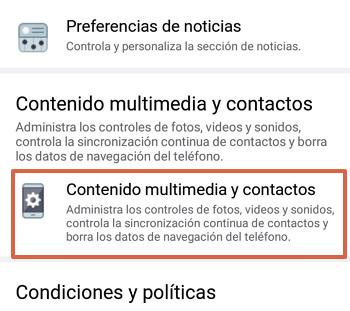 Cómo sincronizar los contactos de tu teléfono con Facebook paso 4