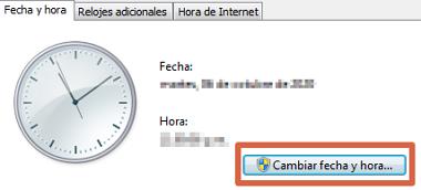 Cómo solucionar error ERR_SSL_PROTOCOL_ERROR en Google Chrome ajustando la fecha y hora del dispositivo paso 3