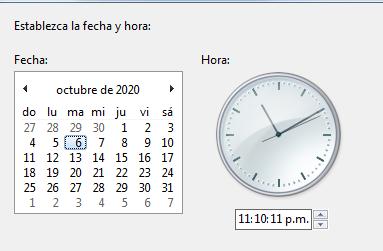 Cómo solucionar error ERR_SSL_PROTOCOL_ERROR en Google Chrome ajustando la fecha y hora del dispositivo paso 4
