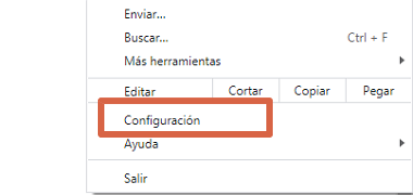 Cómo solucionar error Err_Connection_Timed_Out borrando datos del navegador paso 2