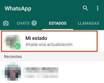 Cómo subir videos de YouTube a los estados de WhatsApp paso 3