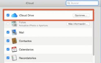 Configurar iCloud drive en Mac paso 3
