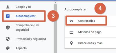 Entrar a Facebook directo y sin contraseña con datos de autocompletado paso 3 y 4