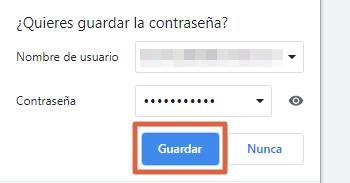 Entrar a Facebook directo y sin contraseña con datos de autocompletado paso 8