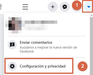 Entrar a Facebook directo y sin contraseña con la configuración paso 1 y 2