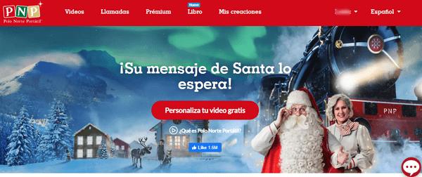 Cómo descargar videos de Navidad para compartir con tus seres queridos desde Consola del Polo Norte Portátil