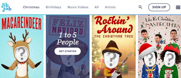 Cómo descargar videos de Navidad para compartir con tus seres queridos desde JibJab