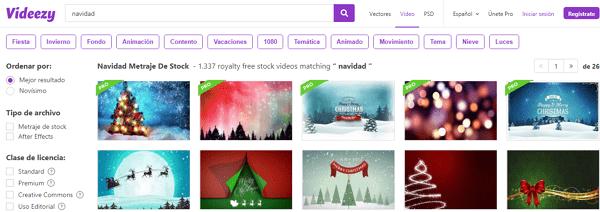 Cómo descargar videos de Navidad para compartir con tus seres queridos desde Veedezy