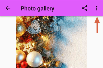 Cómo tener fondos de navidad con Christmas Wallpaper paso 3