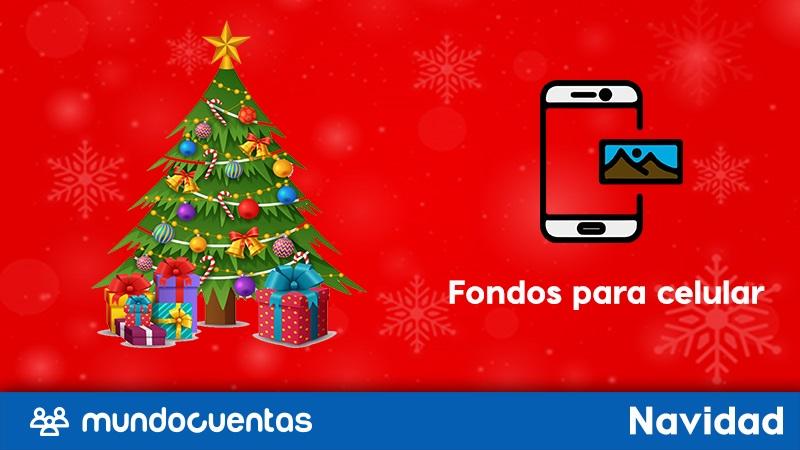 Los mejores fondos de navidad para tu celular