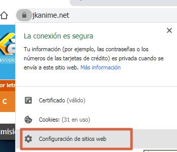 Activar o habilitar Adobe Flash Player en Chrome paso 3