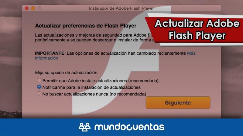 Actualizar Adobe Flash Player gratis para Windows, Mac y Android