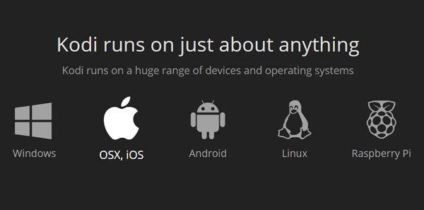Actualizar Kodi en iOS y MacOS