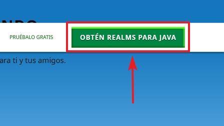 Botón para obtener Realms para Java