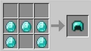 Casco de diamante