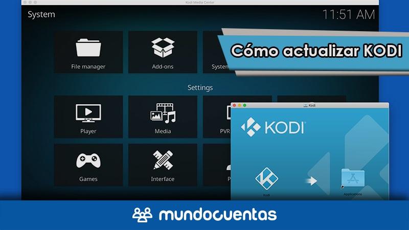 Cómo actualizar Kodi en todos tus dispositivos guía paso a paso