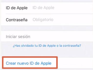 Cómo crear un correo en iCloud desde la App Store en iPhone, iPad o iPod Touch paso 1